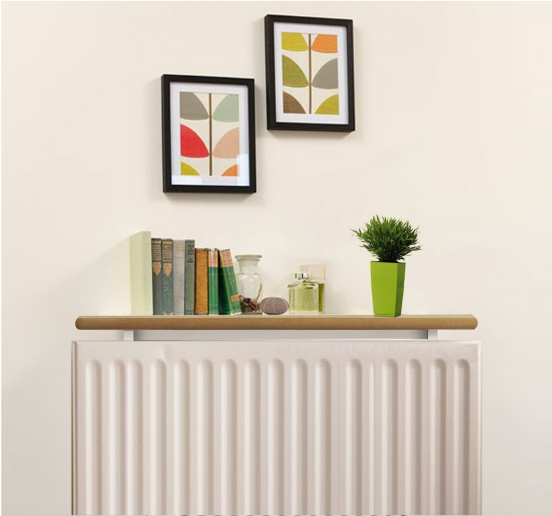 Radiator Shelves - Plain MDF