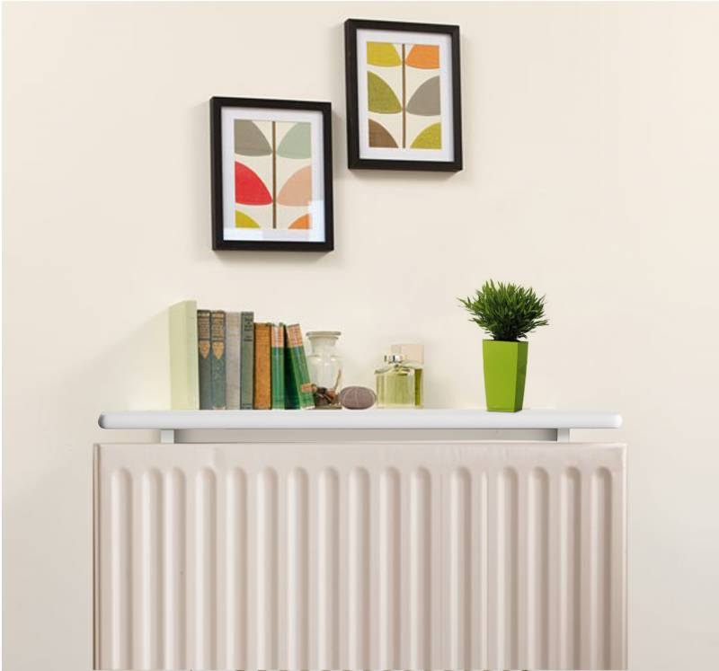 Radiator Shelves - Satin White